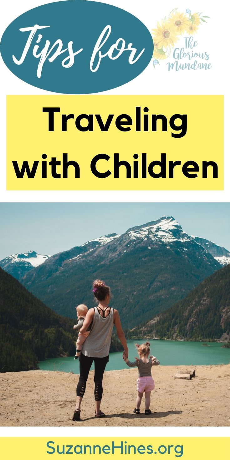 Pin Design - Tips for Traveling with Children