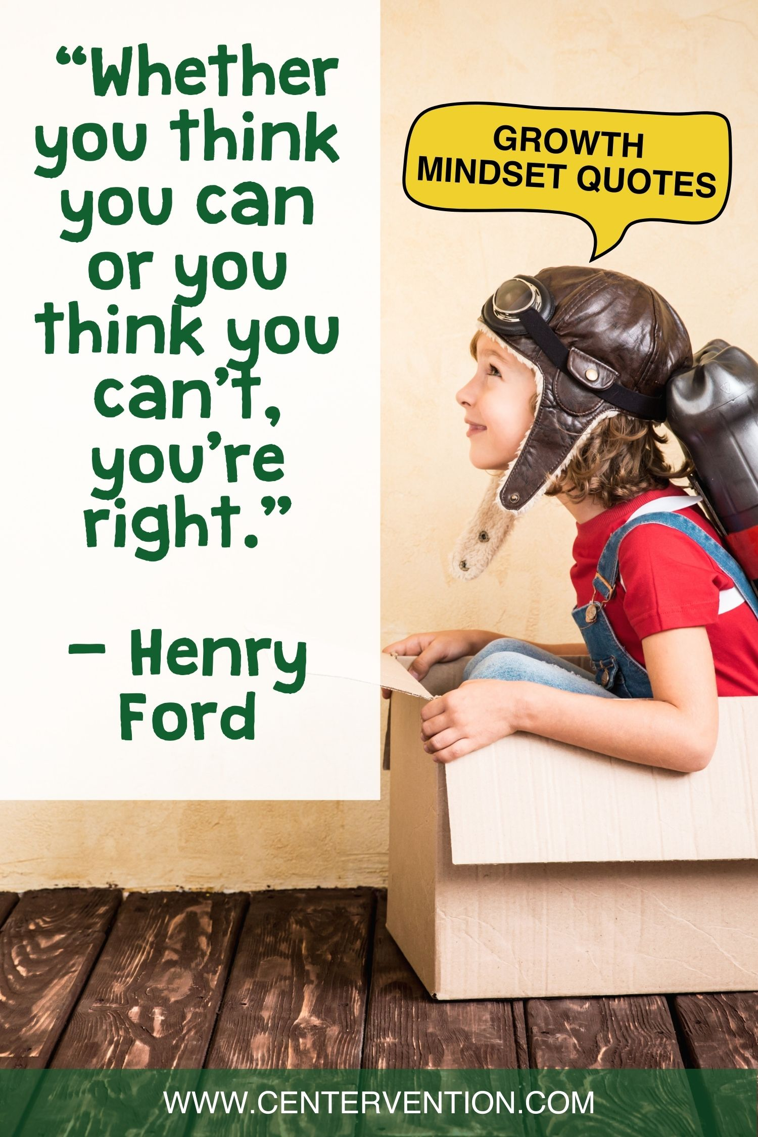 Growth Mindset Quote Pin